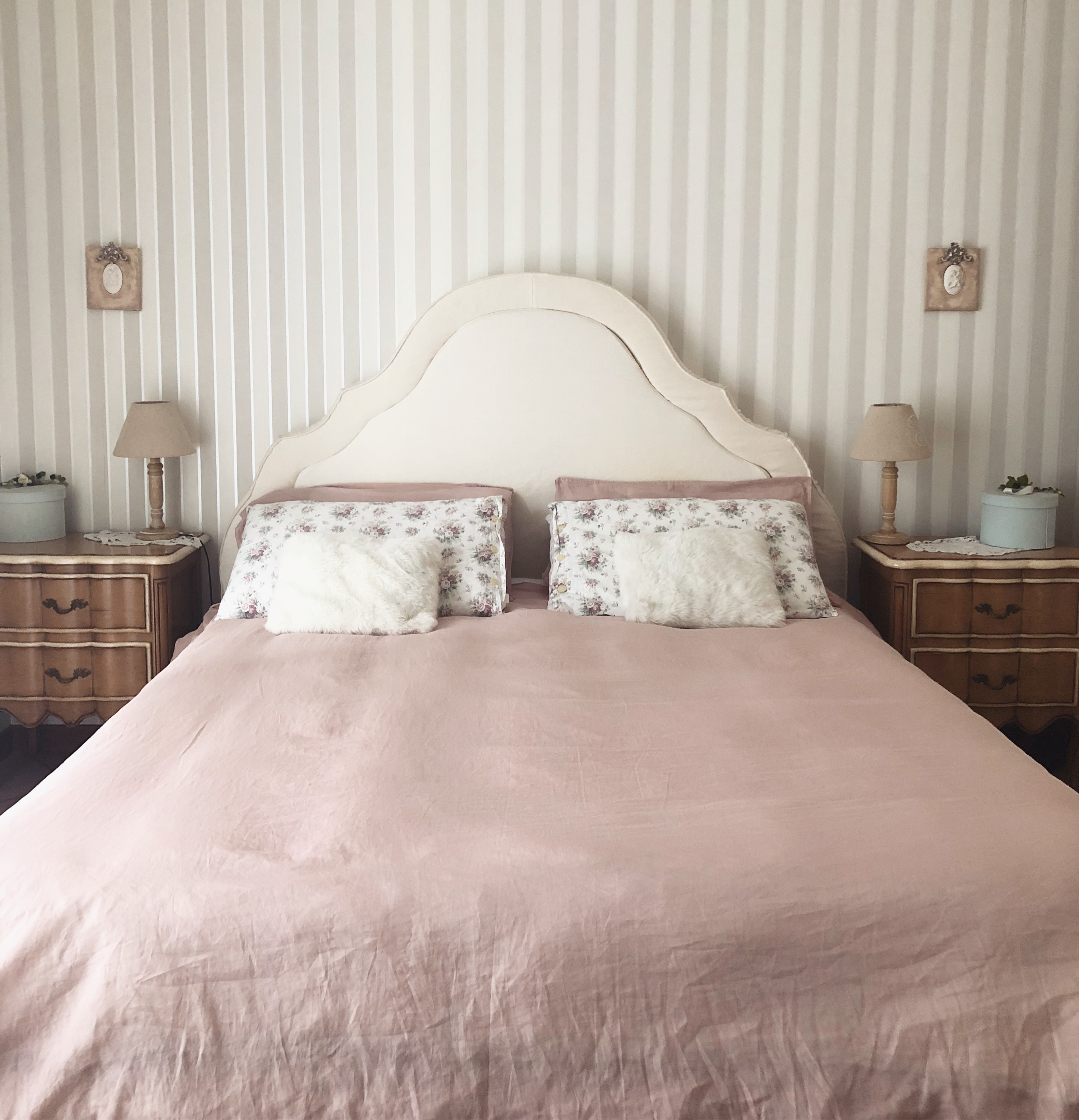 Camera Letto Carta Parati la mia camera da letto in stile provenzale — marica ferrillo